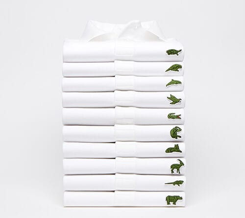 Lacoste Save Our Species Polo Pile